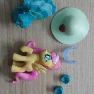 my little pony fluttershy  fashion set