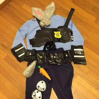 Zootopia Costume (Full set)