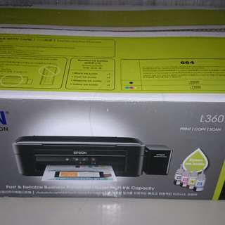 Epson L360 3 in 1 print, copy and scan