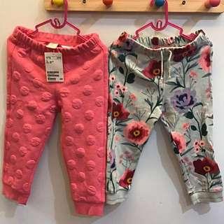 H&M女童長褲2件