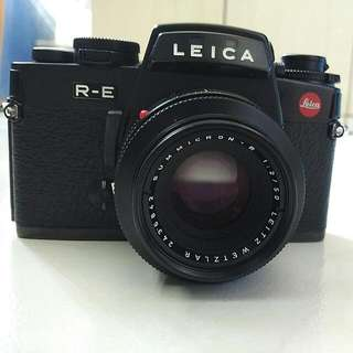 Rare Leica R-E, Summicron F2 50mm, Made In Germany