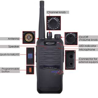 KIRISUN Digital S785 UHF 400-470MHZ DIGITAL (dPMR) TWO WAY RADIO