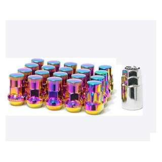 Rays Dura Lug Nuts 1.5 (Neochrome)
