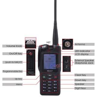 KIRISUN V688U 400-425MHZ DIGITAL TWO WAY RADIO