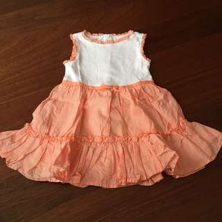 NEW! Girl dress ukuran 1.5-2thn 90cm