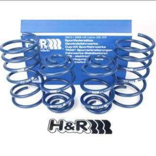 H&R lowering spring (Volvo S80 or XC60)