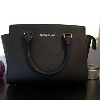 MICHAEL KORS Selma Medium Saffiano Leather