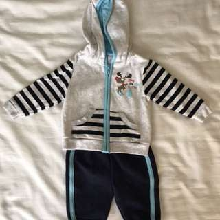 Babies Sweater and Jogging Pants (Newborn)