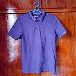 Unisex Original violet / purple Giordano polo shirt