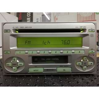 Toyota cd casstle player