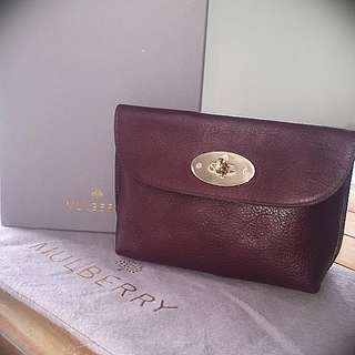 Mulberry cosmetic makeup bag /pouch