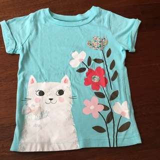 Carter's girl tshirt 3thn