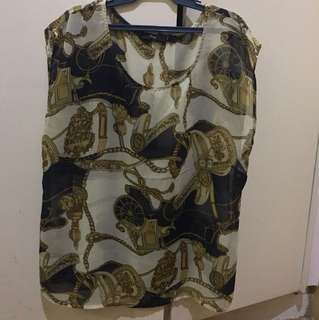 Repriced! Forever 21 top L on tag