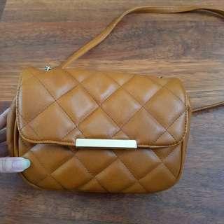 Bershka Brown Small Bag