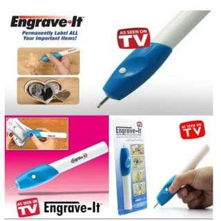 Engrave it pen Alat ukir elektrik di gelas kaca As Seen On TV - HHM125