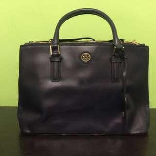 Tory Burch Robinson Mini Double-zip tote bag [只用1次]