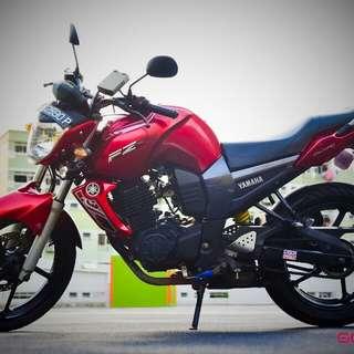 Coverset FZ 16 gen 2 (red)