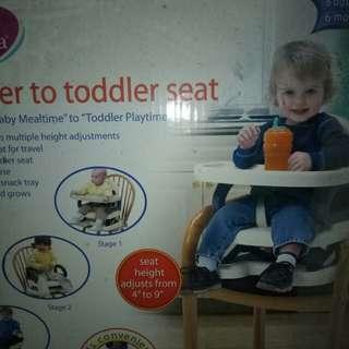 Preloved ,Booster seat merk Mustela