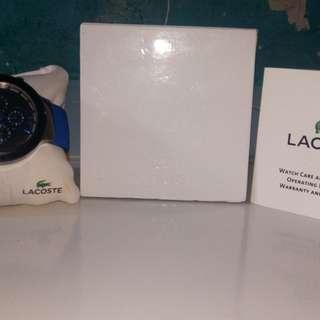 Jam tangan merk lacoste