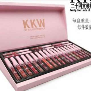 💄 KKW 24 Pcs Lippies In Box