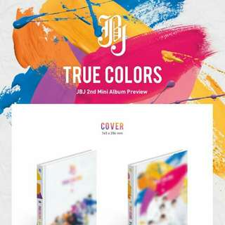 JBJ 2nd Mini Album TRUE COLORS