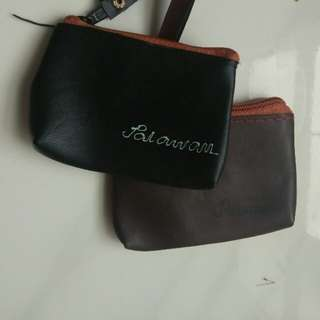 Black n brown purses