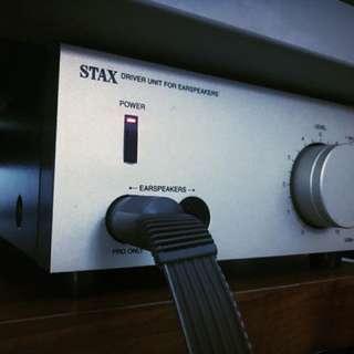 Stax Electrostatic Headphone System