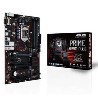 ASUS PRIME B250-PLUS MOTHERBOARD - Bought yesterday with warrenty