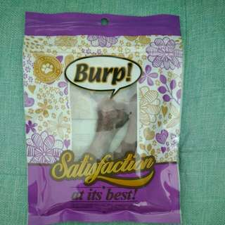 Burp dog treat
