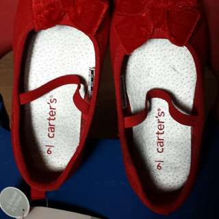 Carter's Red doll shoes