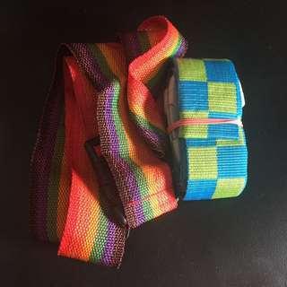 2 pcs luggage belt