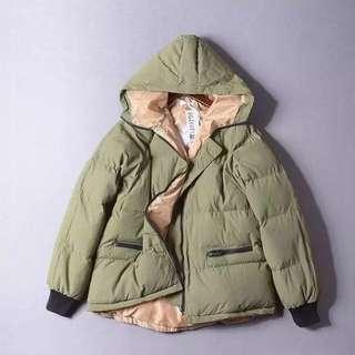 🚚 雪地款❄️保暖連帽軍風外套