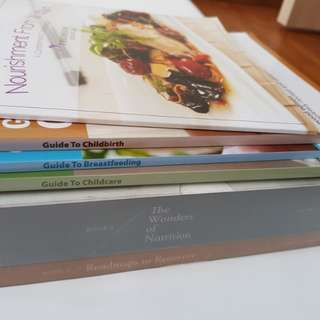 To bless: Pregnancy and Breastfeeding books