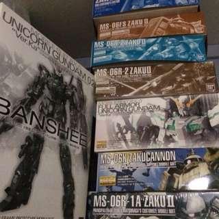 Gundams for sale