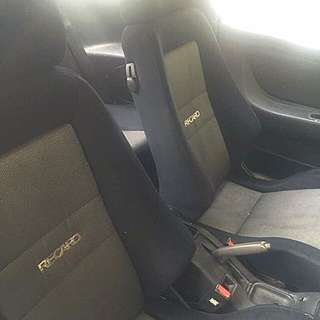 Recaro Seat Bucket 1 Set With Railing.
