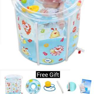 New Baby Swimming Pool / Home Spa (Free gifts set)