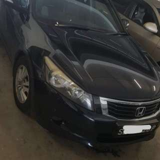 Honda Accord 2.0L ivtec 2008