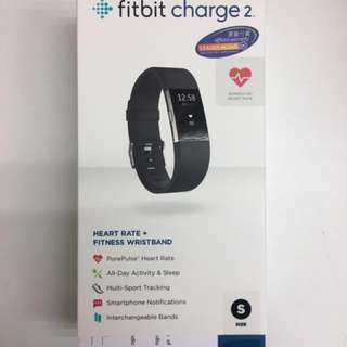 Fitbit charge 2 黑色 (S)