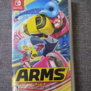 Switch ARMS 單/雙人game