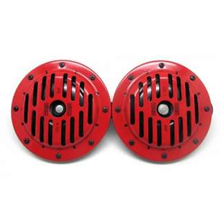 Korsa 40EO1200 Horn Speaker Type 12V (Red/Black)