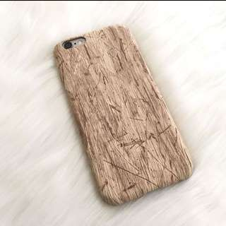 Iphone6/6s wood style soft case