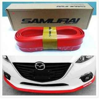 Lips bumper mobil / samurai lips mobil