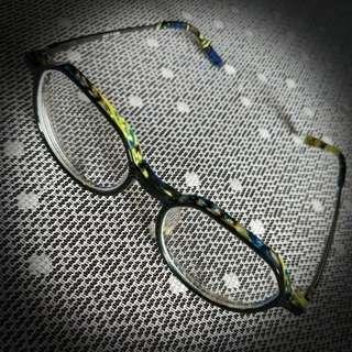 Korean Blue + Yellow spectacles / reading glasses