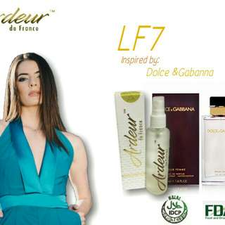 Dolce and Gabanna version scent (LF7)