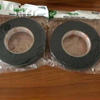 2 rolls Swan 476 Double Sided Foam Tape