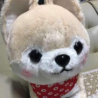 🆕 日本直送 全新 可愛狗仔 柴犬 毛公仔 一隻