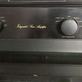 Pioneer integrated amplifier A-400x