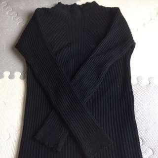 長袖針織上衣
