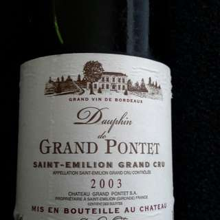 90 pts Grand Pontet Saint-Emilion Grand Cru