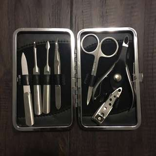 8PC Nail care set with travel case